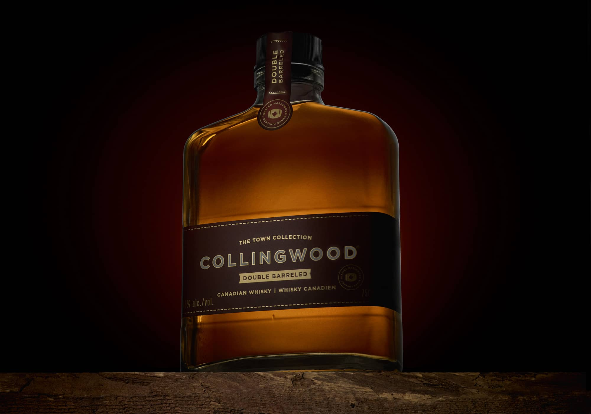 The Town Collection Collingwood Double Barreled Whisky