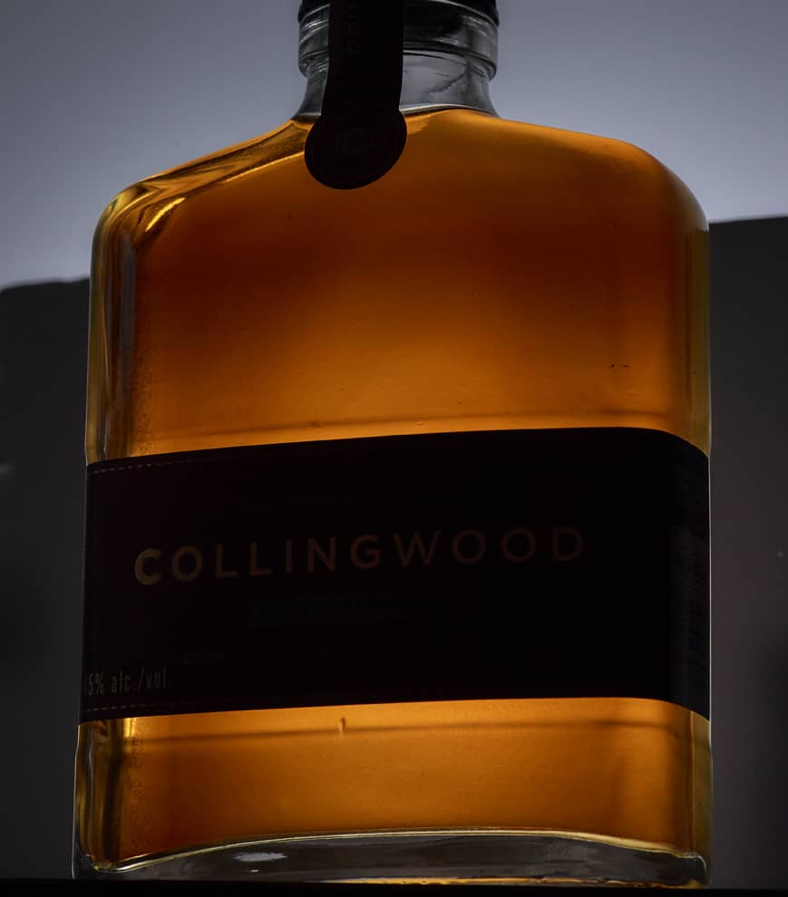 Collingwood Double Barreled Whiskey contents